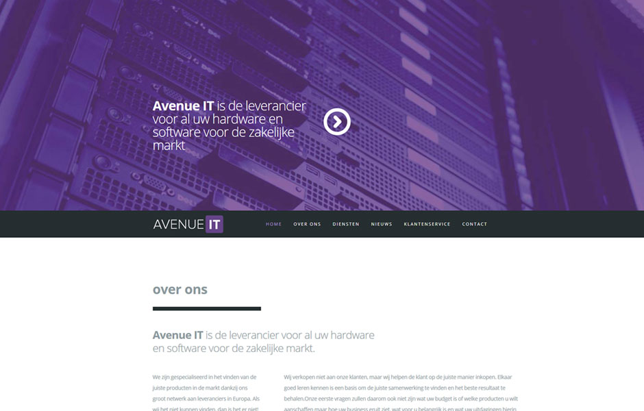 avenue-it-codegroen-website-ontwikkeling-portfolio