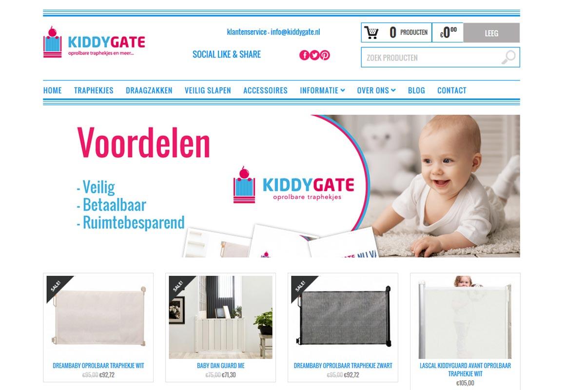 kiddygate-codegroen-website-ontwikkeling